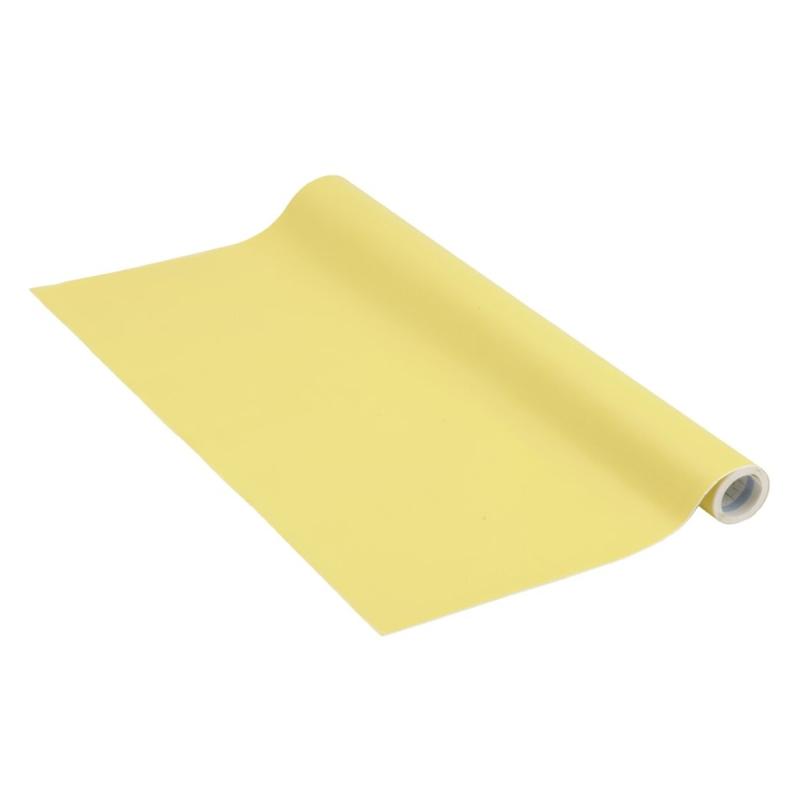 Adh sif venilia unimat jaune 200 x 45 cm adh sif d coratif uni creavea - Papier adhesif venilia ...