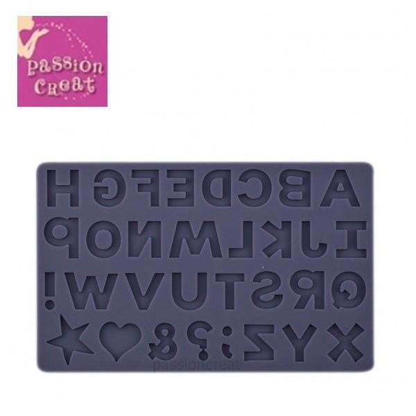 Un Moule Silicone Alphabet 203x127mm - Photo n°1