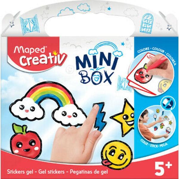 MINI BOX Kit Peinture Vitre Window Color, kit de 6 - Photo n°1
