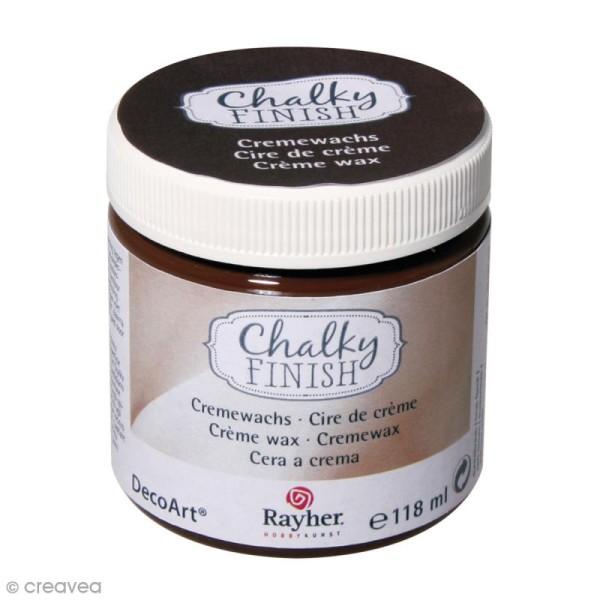 Crème de cire Chalky Finish - Marron - 118 ml - Photo n°1