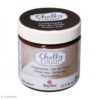 Crème de cire Chalky Finish - Marron - 118 ml