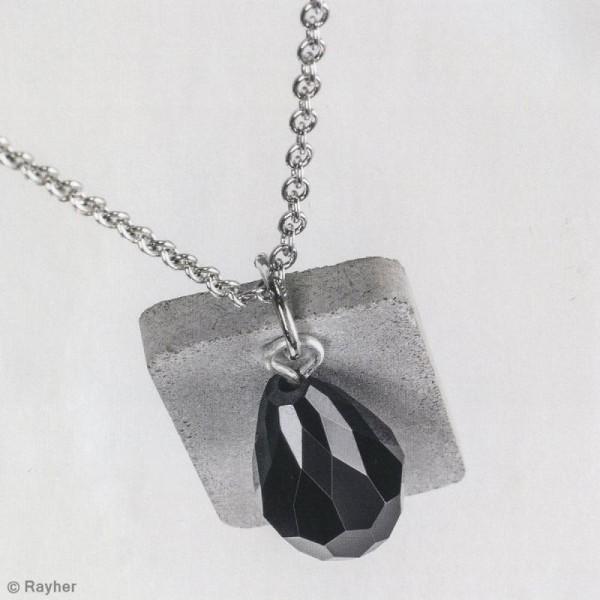 Moule à bijou pour béton Rayher - Rectangle - 1,9 x 3,9 cm - Photo n°4