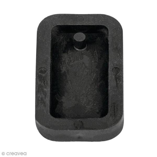 Moule en silicone - Rectangle - 1,9 x 3,9 cm - Photo n°1