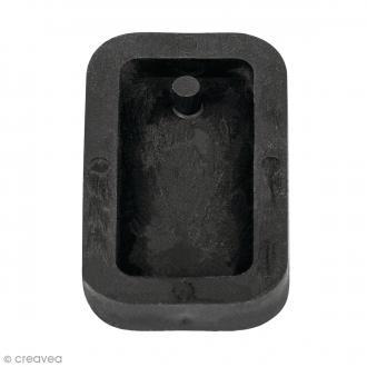 Moule à bijou pour béton Rayher - Rectangle - 1,9 x 3,9 cm