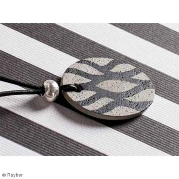 Moule à bijou pour béton Rayher - Ronde - 3,9 cm - Photo n°3
