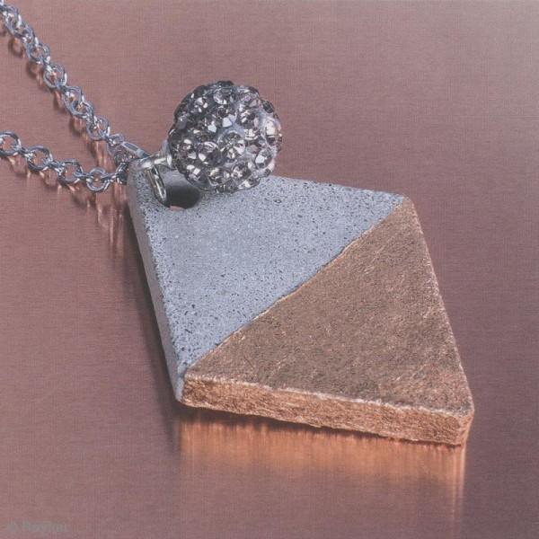 Moule en silicone - Losange - 2,9 x 3,9 cm - Photo n°2
