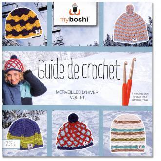 Mini livre My Boshi Merveilles d'hiver n° 16 - 5 modèles