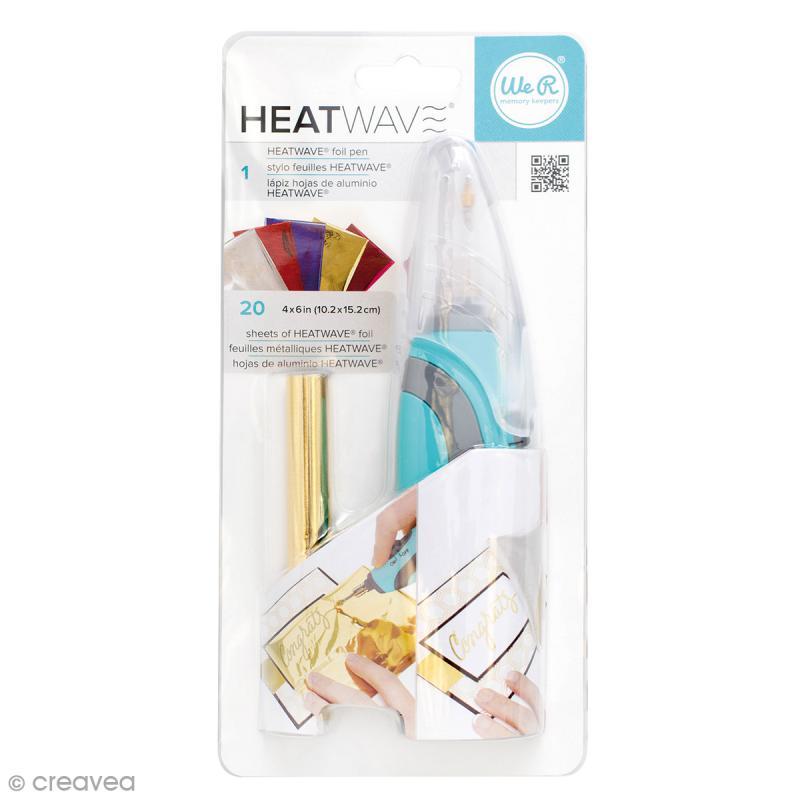 Stylo Heatwave applicateur de feuille - Kit de démarrage - Photo n°1