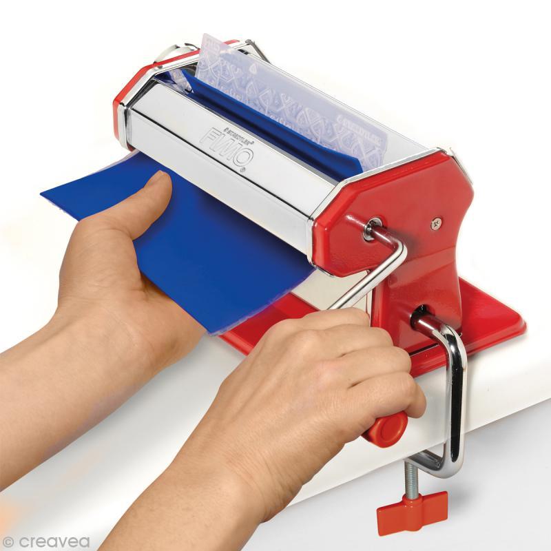 Machine à pâte à polymère Fimo - Machine à pâte - Creavea