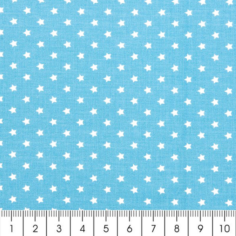 Tissu rico design etoile a la coupe par 10 cm sur for Coupe de miroir sur mesure