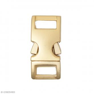 Fermoir à clip Or - 14 mm - 1 pièce