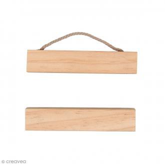 Suspension en bois pour poster - 10 cm - 1 pc