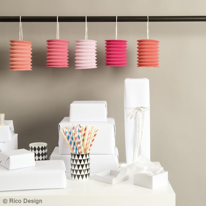 Lanternes en papier - Candy - 10 x 14 xm - 5 pcs - Photo n°2