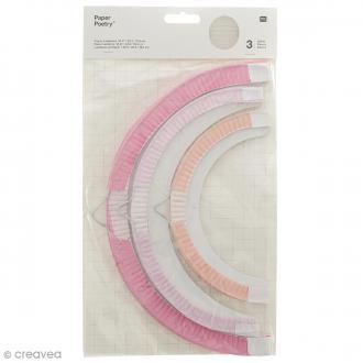 Lampions en papier - Eté - 3 tailles - 3 pcs