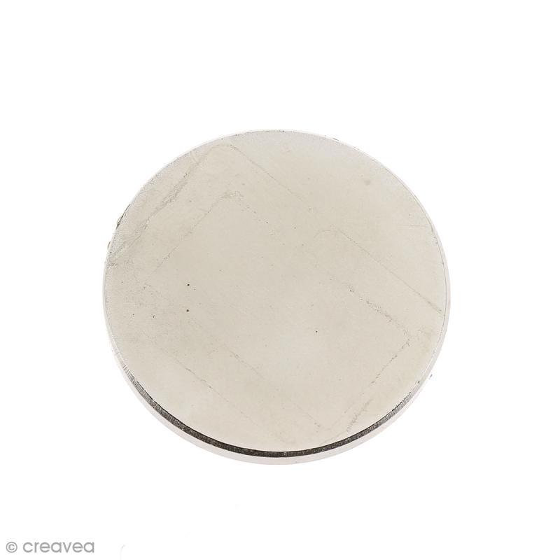 Aimant néodyme - Rond - 30 x 3 mm - 2 pcs - Photo n°1