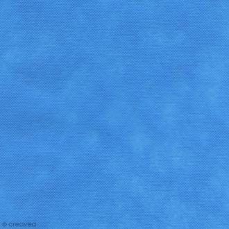 Tissu déguisement Dressy Bond - Bleu turquoise - Par 10 cm (sur mesure)