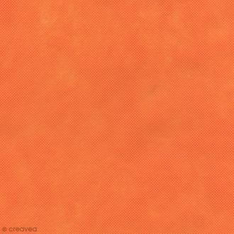 Tissu déguisement Dressy Bond - Orange - Par 10 cm (sur mesure)