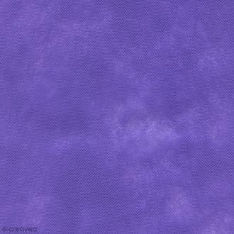 Tissu déguisement Dressy Bond - Violet - Par 10 cm (sur mesure)