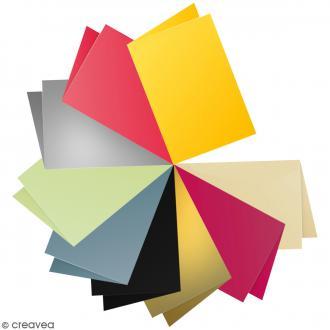 Papier Pollen carte double 110 x 155 mm - 5 pcs