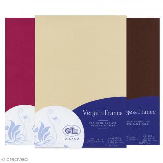Papier Vergé de France A4 - 50 Feuilles