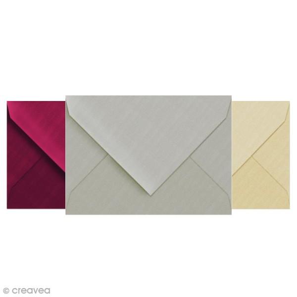 Enveloppe doublée Vergé de France 114 x 162 - 25 pcs - Photo n°1