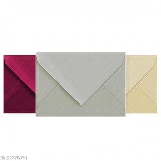 Enveloppe doublée Vergé de France 114 x 162 - 25 pcs