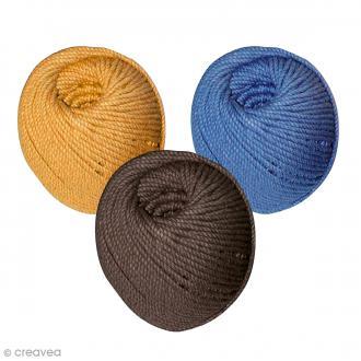 coton cabl macram acheter coton cabl crochet au. Black Bedroom Furniture Sets. Home Design Ideas