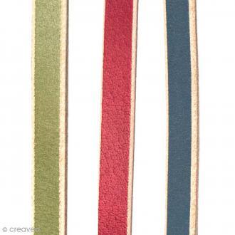 Bande de cuir 10 mm - 1 mètre
