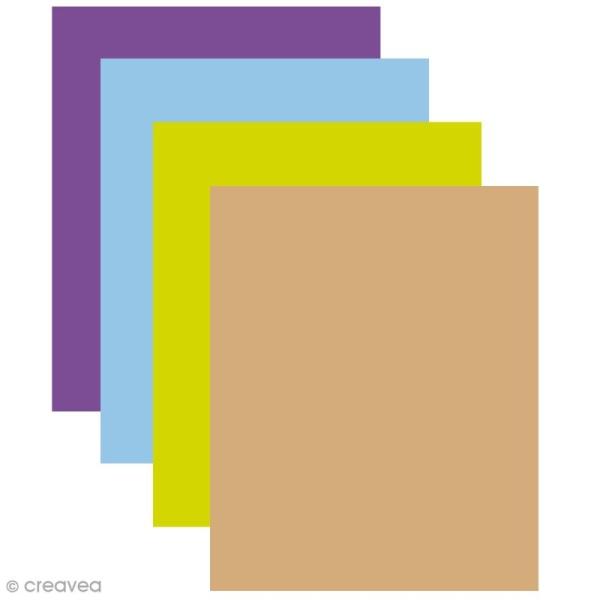 Feutrine 1 mm 24 x 30 cm - 23 couleurs - Photo n°1
