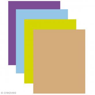 Feutrine 1 mm 24 x 30 cm - 23 couleurs
