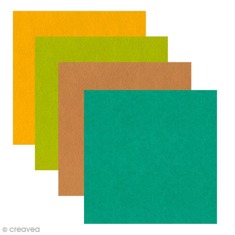 Feutrine Artemio - 1 mm- 30 x 30 cm - 17 couleurs - Photo n°1