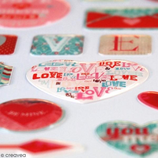 Stickers 3D A la folie - 28 pcs - Photo n°2