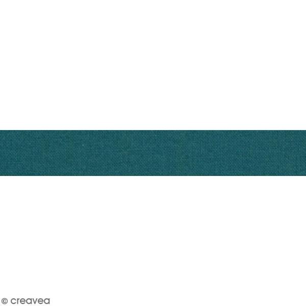 Masking tape tissu - Bleu canard - Daily Like - 5 m - Photo n°2