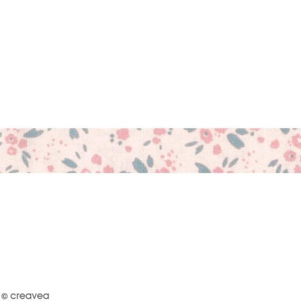 5 mètres DOVECRAFT Back to Basics Jolis Pétales Rose Lilas A Motif Ruban