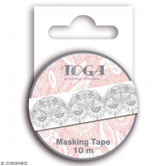 Masking tape Dentelles - 10 m x 15 mm