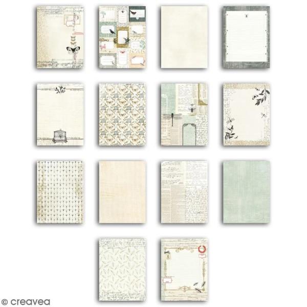 Bloc Deco Toga - Cabinet de curiosité - 15 x 20 cm - 28 feuilles - Photo n°2
