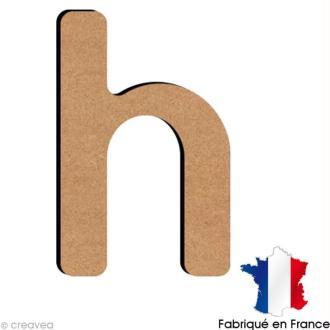 Lettre minuscule en bois H 5 cm