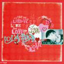 Papier scrapbooking A la folie - Set 6 feuilles 30,5 x 30,5 cm - Recto Verso - Photo n°3