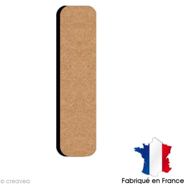 Lettre minuscule en bois I 5 cm - Photo n°1