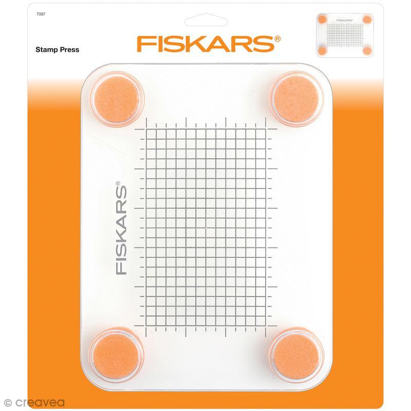 Mini Presse à Tampons - Fiskars - 24 x 29 x 3 cm - Photo n°1