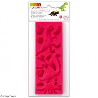 Moule en Silicone 3D - Dinosaures - 9 formes