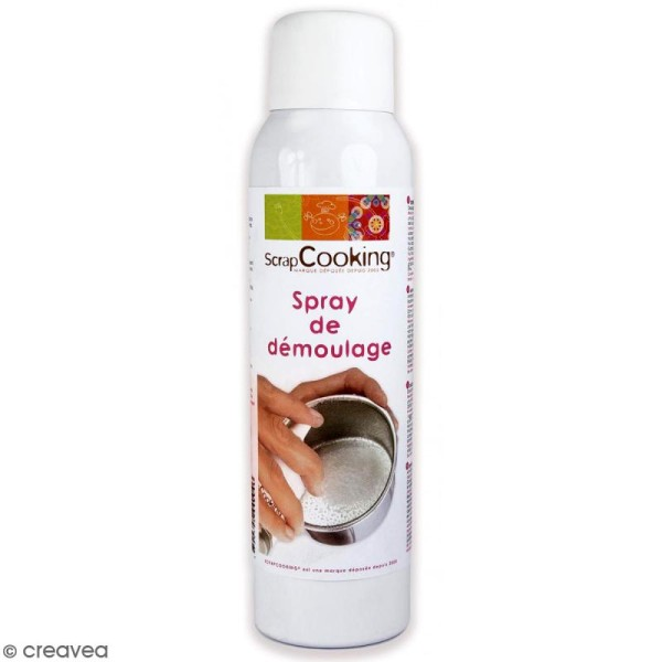 Spray alimentaire pour démoulage - 150 ml - Photo n°1