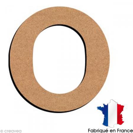 lettre minuscule en bois o 5 cm lettre en bois minuscule 5 cm creavea. Black Bedroom Furniture Sets. Home Design Ideas