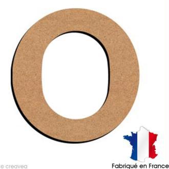 Lettre minuscule en bois O 5 cm