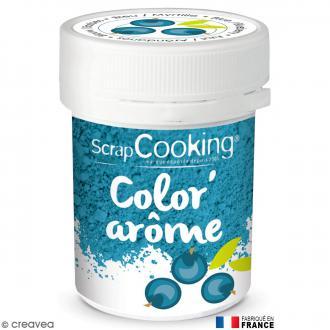colorant poudre alimentaire colorarme myrtille bleu - Colorant Alimentaire Bleu Turquoise