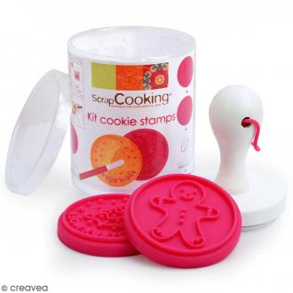 Kit Tampon à biscuit - Noël - Silicone