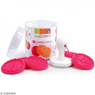 Tampons à biscuit - Fait main - Silicone - 6 pcs