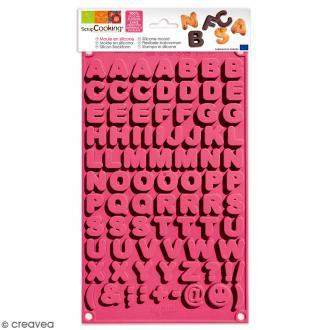 Moule en Silicone 3D - Alphabet - 81 pcs