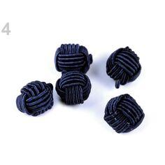 Tige en Plastique Et Boutons de Fixation de la Mercerie 10pc Blanc Noeud Chinois Bouton /Ø10mm