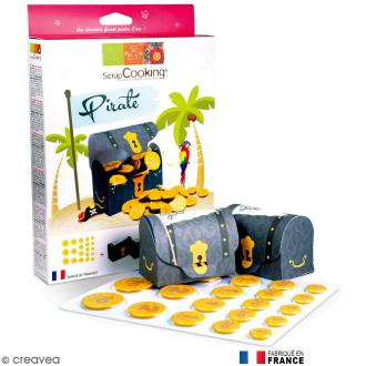 Kit Trésor du pirate ScrapCooking